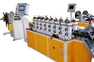 China Automatic Servo Control Omega V Clamp Cold Roll Forming Machine on sale