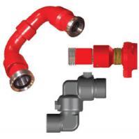 Fluid Handling High Pressure Swivel Joint High Strength Alloy Steel With Long Radius