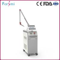 China Professional advanced 1064nm 12 inch big screen ruby laser tattoo removal machine with CD approved on sale