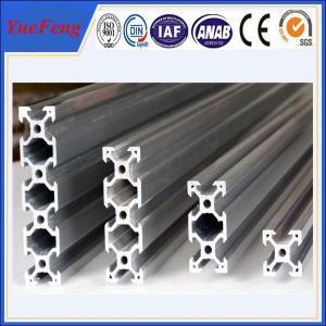 Quality roller lines industrial extruded aluminium profiles, aluminium t-slot extrusion factory for sale