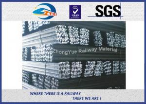 Light 8KG 18KG 24KG Q235B / 55Q Steel Crane Rail With