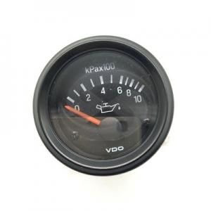 China 12V 24V Optional For VDO Oil Pressure Meter Diesel Engine Meter Oil Pressure Gauge on sale