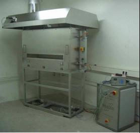 China ISO 9239-1 Flooring Radiant Heat Flux Fire Testing Equipment on sale