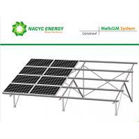 Resistance Heavy Wind And Snow Greatly Strength Ground  Solar Racking System With Reinforced Metis Rail
