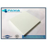 China Over 6 Meters' Length Ultra Long Aluminium Honeycomb Panel with Surface PVDF Painted and Opened Edge on sale