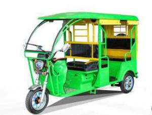 China Yufeng 48V1000W Electric Powered Tricycle with 2780*950*1750 Fiber Roof on sale