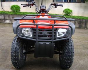 China Utility Four Wheeler Motor Bikes 250cc 4 Wheeler ATV With Large Size Shaft Drive on sale