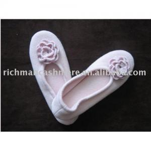 China cashmere shoes/slippers on sale