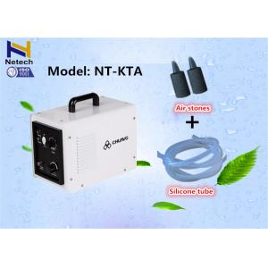 China Adjustable 20 - 100% Household Ozone Generator Machine With Timer Control on sale
