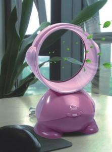 China Pink Color 5 inch Turbo Fan without Blades Safe for Children on sale