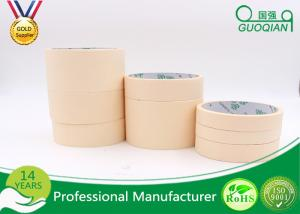 China Waterproof Good Line Crepe Paper 3 Inch Masking Tape Auto Body Painting Repairs on sale