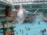 Arrosez l'équipement de terrain de jeu avec la glissière d'eau de spirale de fibre de verre et les jouets pour le parc aquatique