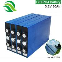 Lighter Weight 3.2V 60Ah LiFePO4 Battery Cell Rechargeable Long Cycle Solar Battery For UPS Electric Scooters