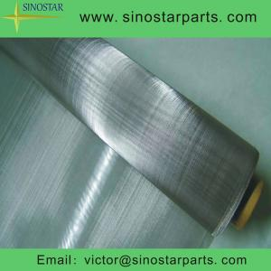 China paper making screen stainless steel wire mesh on sale