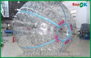 China Gaint 1.0mm TPU Land Zorb Ball Custom Inflatables Products on sale