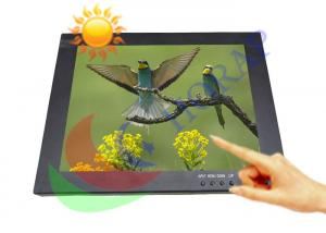 China Sunlight Readable Touch Screen 17 Inch , DVI HDMI Open Frame  1000 Nits Monitor on sale