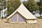 холст 100% хлопок на открытом воздухе шатра располагаясь лагерем шатра семьи шатра колокола холста 3М водоустойчивый