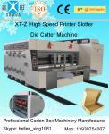 Machine ondulée d'imprimante de Flexo de boîte de conducteur à grande vitesse économique de rebord avant