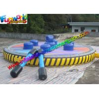 Interactive Game Inflatable Gladiator Jousting Ring With Joust Stick