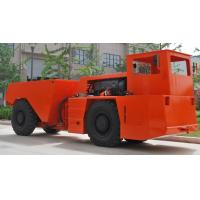 Confined Spaces Low Profile Dump Trucks Central Articulated Steering 12V Battery