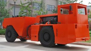 China Confined Spaces Low Profile Dump Trucks Central Articulated Steering 12V Battery on sale