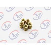 China High Precision Lathe Machining Parts, Small Brass Knurling Inserts on sale