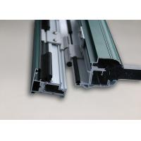 High Strength Aluminium Window Profiles Power Coating ISO Certification