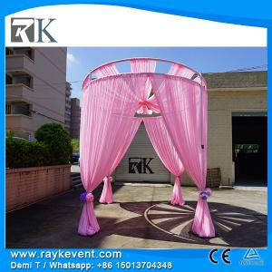 China Buy pipe and drape canada Lighted backdrops for weddings indian wedding stages decorations on sale