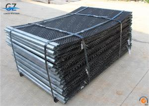 China heavy duty rock screen mesh for shale shaker screen with hooks and shroud edge on sale