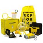 Mini hot sales adventurer exploration kit- Binoculars, Flashlight, Magnifying Glass, Whistle, Compass, Butterfly
