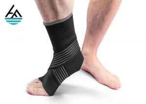 China Elasticated Neoprene Ankle Wrap / Sport Foot Ankle Support Bandage on sale