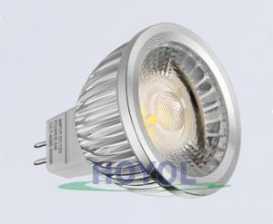 China Professional Aluminum Alloy 3w Dimmable LED Spotlights Bulbs MR16 100Lm/W on sale