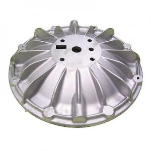 China ALSi12Cu1Fe Aluminum Alloy Die Casting Process Pump Cover Of Machine Parts on sale