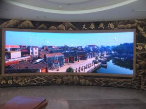 China Multi Color P4 LED Panel RGB Programmable Big LED Screen Display 1300cd/㎡ supplier
