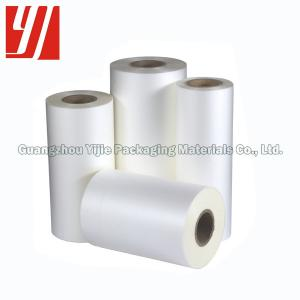 China extrusion coated 26 MIC BOPP Thermal Lamination Film For Magazines on sale