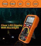 Automatic Range 20 Amp Digital Multimeter , Commercial Electric Multimeter