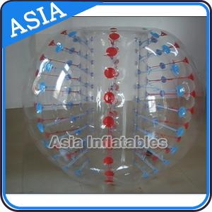 China Colors Dots Inflatable Bumper Balls for Sale on sale