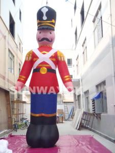 China Inflatable Soldier Model /Inflatable Advertising/Cartoon Characters With High Temperature Resistance Advertising on sale