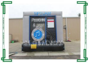 China Commercial Grade Inflatable Bounce House With Water Pool Slide Combo Fireproof on sale