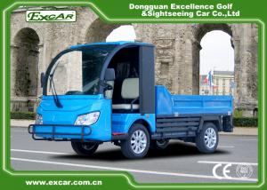 China EXCAR Trojan Battery 72V Electric Utility Vehicle Cart 60-80KM Range on sale