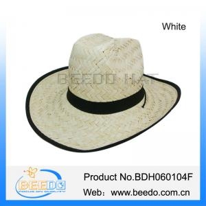 f063466ae3036 Men straw fedora hat wholesale cowboy straw hat for sale – straw hat ...
