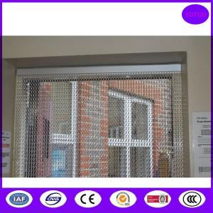 China Top Quality Chain Link Fly Screen Double Doorway made in China on sale