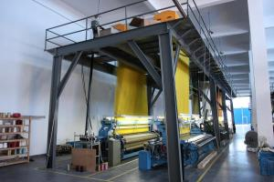 China HYRL-737A Electronic Jacquard Rapier Looms, Textile Weaving Loom Machine on sale