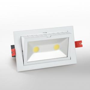 China High Power 60W COB Exterior Recessed Adjustable Led Downlight , 350 Rotatable Degree on sale