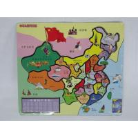 Wholesale Children Top Wooden Educational China Map Kindergarten Teaching Aids