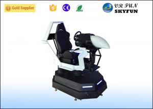 China Stable VR Racing Simulator Driving Car Game Eye Catching Design For Store on sale