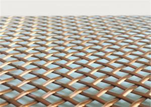 China Architectural  Woven Decorative Wire Mesh For Building Facades Claddings on sale