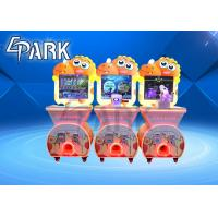 China Shooting Racing Pressing Game Vending Capsule Machine For Amusement Park on sale