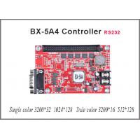China Asynchronous RS232 BX-5A4 led sign controller for single/dual color Lintel LED message text display on sale