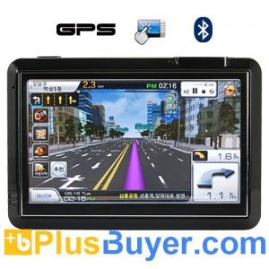 China GuideStar - 4.3 Inch Touchscreen GPS Navigator with Multimedia System on sale